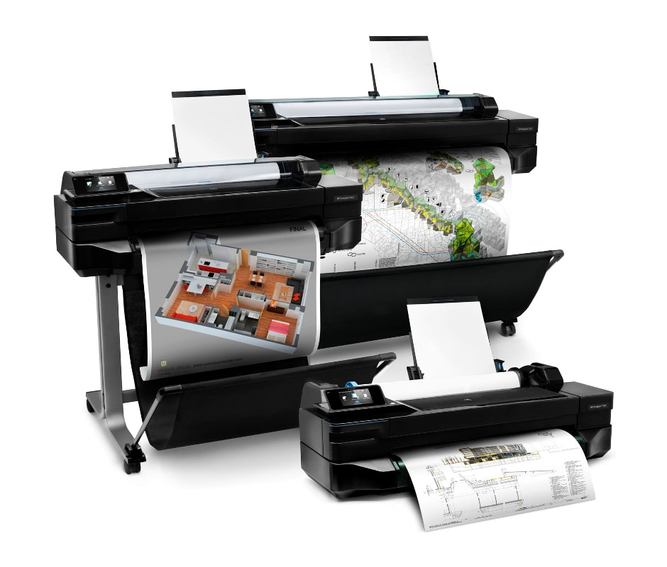 We are authorized service centre for HP plotters